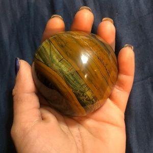 Tiger's Eye Palm Stone 💕